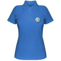 Женская футболка поло Volkswagen Small Logo