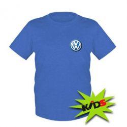 Детская футболка Volkswagen Small Logo