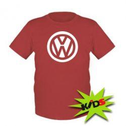 Детская футболка Volkswagen - PrintSalon
