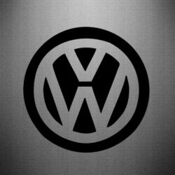 Наклейка Volkswagen - PrintSalon