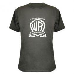 Камуфляжная футболка Warn A brother - PrintSalon