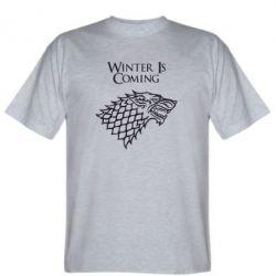 Мужская футболка Winter is coming (Игра престолов) - PrintSalon