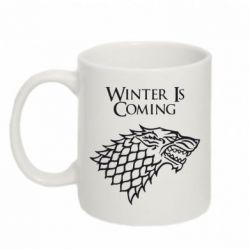 Кружка 320ml Winter is coming (Игра престолов) - PrintSalon