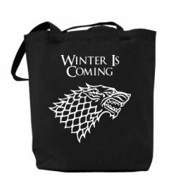 Сумка Winter is coming (Игра престолов) - PrintSalon