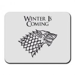 Коврик для мыши Winter is coming (Игра престолов) - PrintSalon