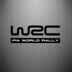 Наклейка WRC - PrintSalon