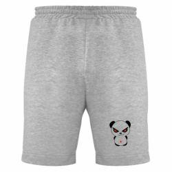 Мужские шорты Злой мишка